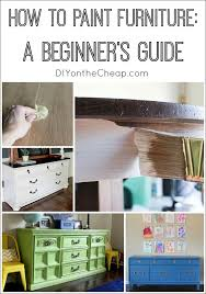 painting wooden furniture diy. how to paint furniture: a beginner\u0027s guide painting wooden furniture diy