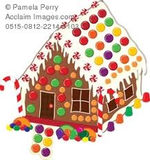 gingerbread house clipart. Delighful Clipart Inside Gingerbread House Clipart L