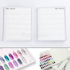120 Nail Tip Color Display Book Nail Polish Color Chart
