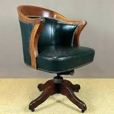 vintage style office furniture. Vintage Leather Office Chair Desk Swivel Antique Style Chairs Vintage Style Office Furniture