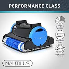Dolphin Nautilus <b>Automatic</b> Robotic <b>Pool</b> Cleaner with Dual <b>Filter</b>