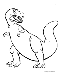 Small Picture Printable 38 Dinosaur Coloring Pages 4885 Free Printable