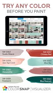 Wall Paint App 193 Best Colorsnap System For Painting Images On Pinterest Paint