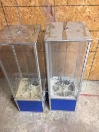 AA Vending Machine Fascinating Pair Of 48 Northwestern Super 48 48' Capsule Toy Vending Machine 48