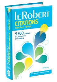 Le Robert Dictionnaire De Citations Francaises Tome 2 9500