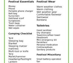 cing checklist app best template sles heres everything you need on your festival ng foster
