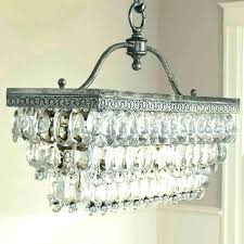 rectangular glass chandelier mercury pendant light shades modern
