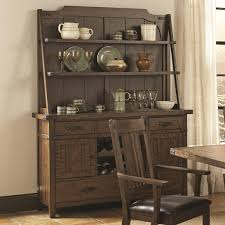 Padima Rustic Rough-Sawn Buffet with Hutch from Coaster (105704 ...