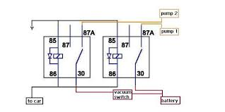 dual fuel pump wiring question net dual fuel pump wiring question dual pump 2 relays jpg