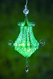 anywhere mini chandelier green