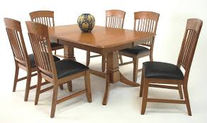 dining table and chairs sets for modern concept concord black