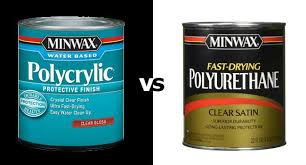 polycrylic vs polyurethane which finish to use on your wood project