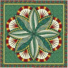 38 best Quilts - Judy Neimeyer images on Pinterest | Paper piecing ... & The Fire Island Hosta quilt pattern was designed by Judy and Bradley  Niemeyer. The cover quilt was made out of a collection of Hoffman Fabrics,  ... Adamdwight.com
