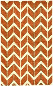 orange chevron rug rust red 3 x 5 area rugs pink grey outdoor and white orange chevron rug
