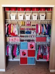 closet organization Girls rooms Pinterest Closet organization