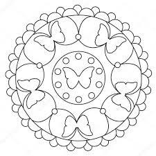 25 Het Beste Mandala Makkelijk Kleurplaat Mandala Kleurplaat Voor
