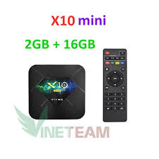 Android tivi box X10 mini - Box Tivi giá rẻ
