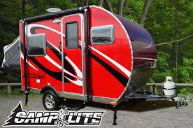 Small Picture Camplite 11fk Dry wt 1800 lbs Small Travel Trailers