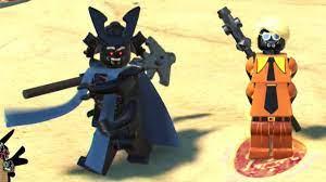 The LEGO Ninjago Movie Video Game - All Garmadon Characters - YouTube