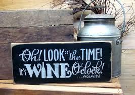 Wine Decor For Kitchen Rustic Wine Decor Etsy