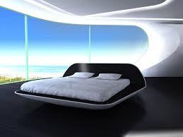 Elegant Futuristic Bed