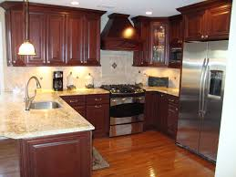 Dark Laminate Flooring In Kitchen Kitchens White Cabinets Dark Floors Gorgeous Home Design
