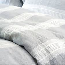 washed pure linen duvet set french flax bedding sets bed cover king size pillowcases