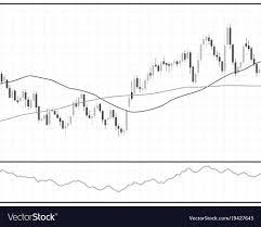 Stock Chart Art Forex Stock Chart Data Candle Graph