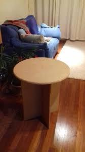 circular chipboard tables circular chipboard display table in shepperton surrey gumtree
