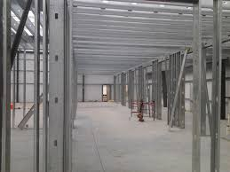 interior metal framing. From Simple Wall Framing To The Most Difficult Intricate Ceiling Systems, We Specialize In Interior Of Partition Walls, Ceilings, And Soffits That Metal