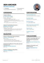 Modern Resume For Instructors 10 Teacher Resume Samples Teaching Resume Examples 2019