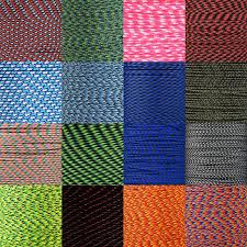 Paracord Planet Color Chart 425 Paracord Multi Colors
