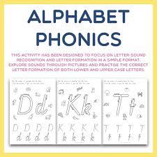 Start studying alphabet phonetic sounds. Alphabet Phonics Letter Sounds And Formation Castle Kite