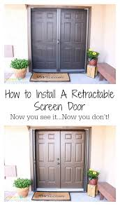 how to install sliding screen door latch and pull saudireiki