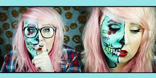 hipster pop art zombie makeup tutorial you