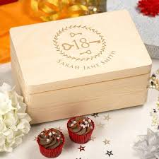 memory keepsake boxes personalised laser engraved wooden box with hinged lid key design australia