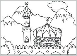 Islamic Coloring Pages Pdf Top Rated Images Or Colouring Art