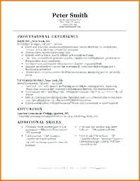 Example Basic Resume Magnificent Simple Job Resume Examples Elegant Basic Resume Format Examples