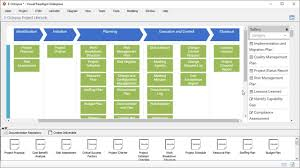 49 Processes Of Project Management Chart Full Project Management Process