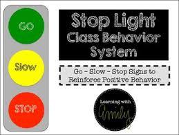 Stoplight Behavior Chart Templates Traffic Light Behavior Worksheets Teaching Resources Tpt