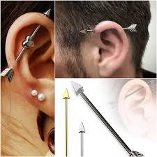 Chart Of Ear Piercings Ear Piercings Chart Ear Piercings For Men And Women