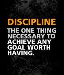 Goal Quotes Discipline The one thing necessary to achieve any goal worth 89