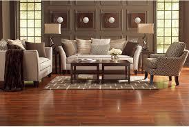 The Brick Living Room Furniture Sofia Vergara Collection Santorini Microfibre Sofa Beige The