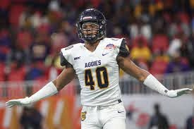 A&T football star Darryl Johnson declares for early entry in NFL draft    Ncat   greensboro.com
