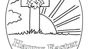 Religious Coloring Pages Activity Easter Color Home Improvement