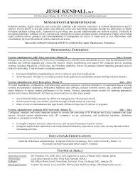 Linux Administrator Resume Acepeople Co