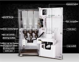 Instant Coffee Vending Machine Inspiration 48 In 48 Automatic Cup Falling Milk Tea Fruit Juice Coffee Maker