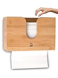 folded paper towels for bathroom. bamboo paper towel dispenser for kitchen \u0026 bathroom - wall mount / countertop multifold folded towels