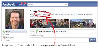 how to change your employer link in your facebook profile to link to your real facebook