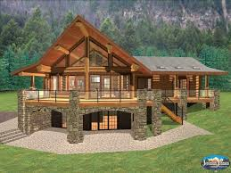 lake house floor plans with walkout basement new 15 elegant ranch house plans with walkout basement